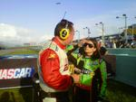 Danica talking to ESPN at Homestead