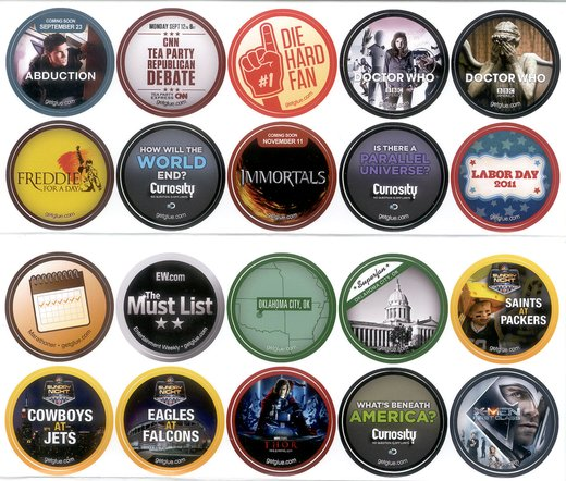 GetGlue Stickers Batch #3