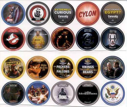 GetGlue Stickers Batch #5
