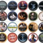 GetGlue Stickers Batch #6