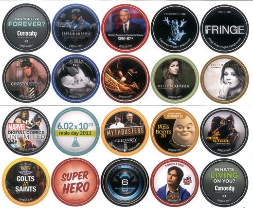 GetGlue Stickers Batch #6