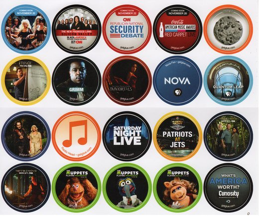 GetGlue Stickers Batch #9