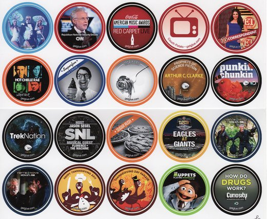 GetGlue Stickers Batch #10