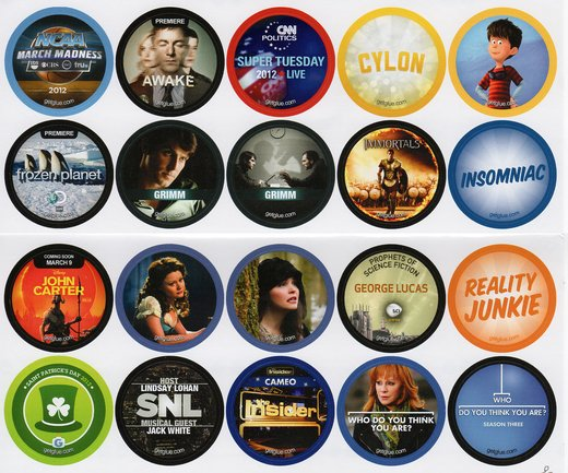 GetGlue Stickers Batch #16