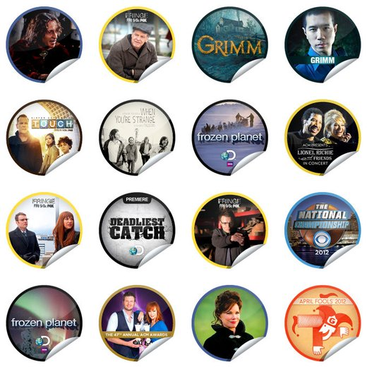 GetGlue Stickers Batch #18