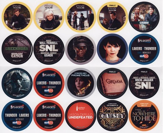 GetGlue Stickers Batch #20