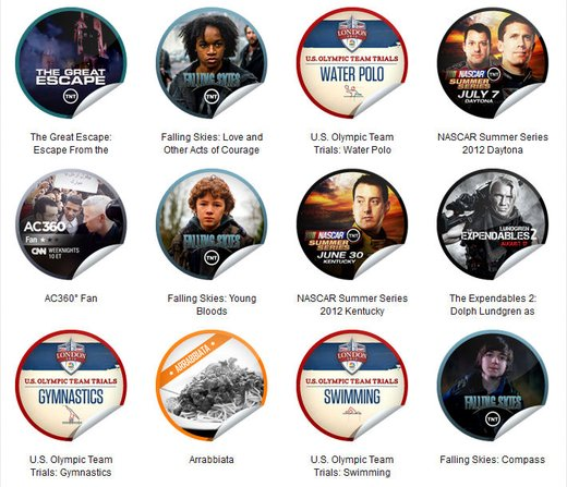 GetGlue Stickers Batch #23
