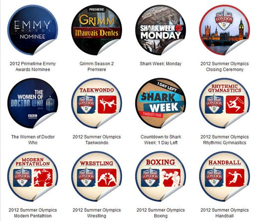 GetGlue Stickers Batch #27