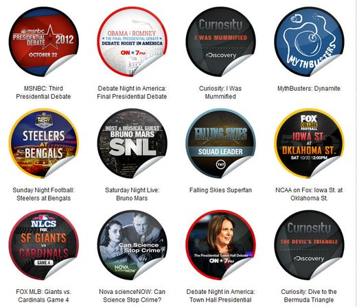 GetGlue Stickers Batch #33