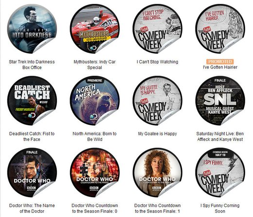 GetGlue Stickers Batch #47
