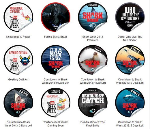 GetGlue Stickers Batch #52