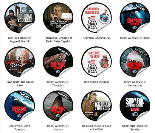 GetGlue Stickers Batch #53