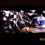 Samsung LN52A650, Star Wars III DVD, R2D2