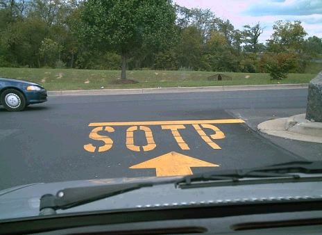 Bad Spelling - SOTP Sign
