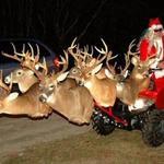 A Redneck Santa's Sleigh