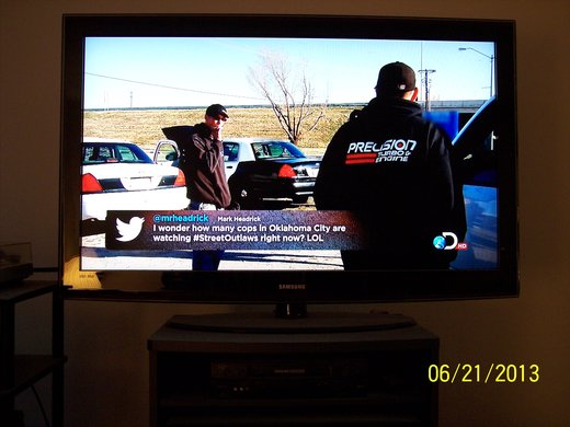 Tweet on Discovery's Street Outlaws: June 21, 2013