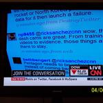 Tweet on CNN: April 6, 2009