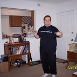 Wearing Surpass Hosting T-Shirt