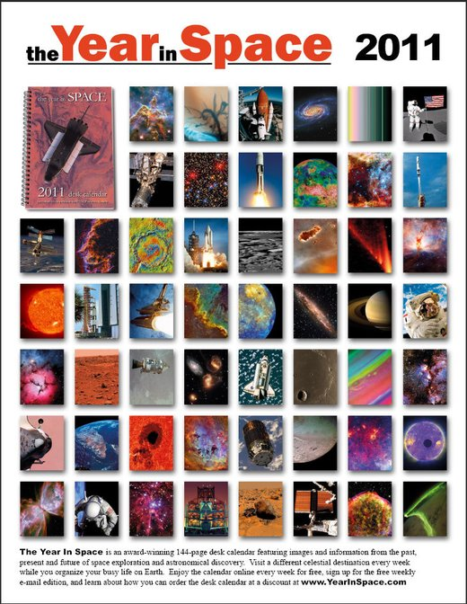 The Year in Space 2011